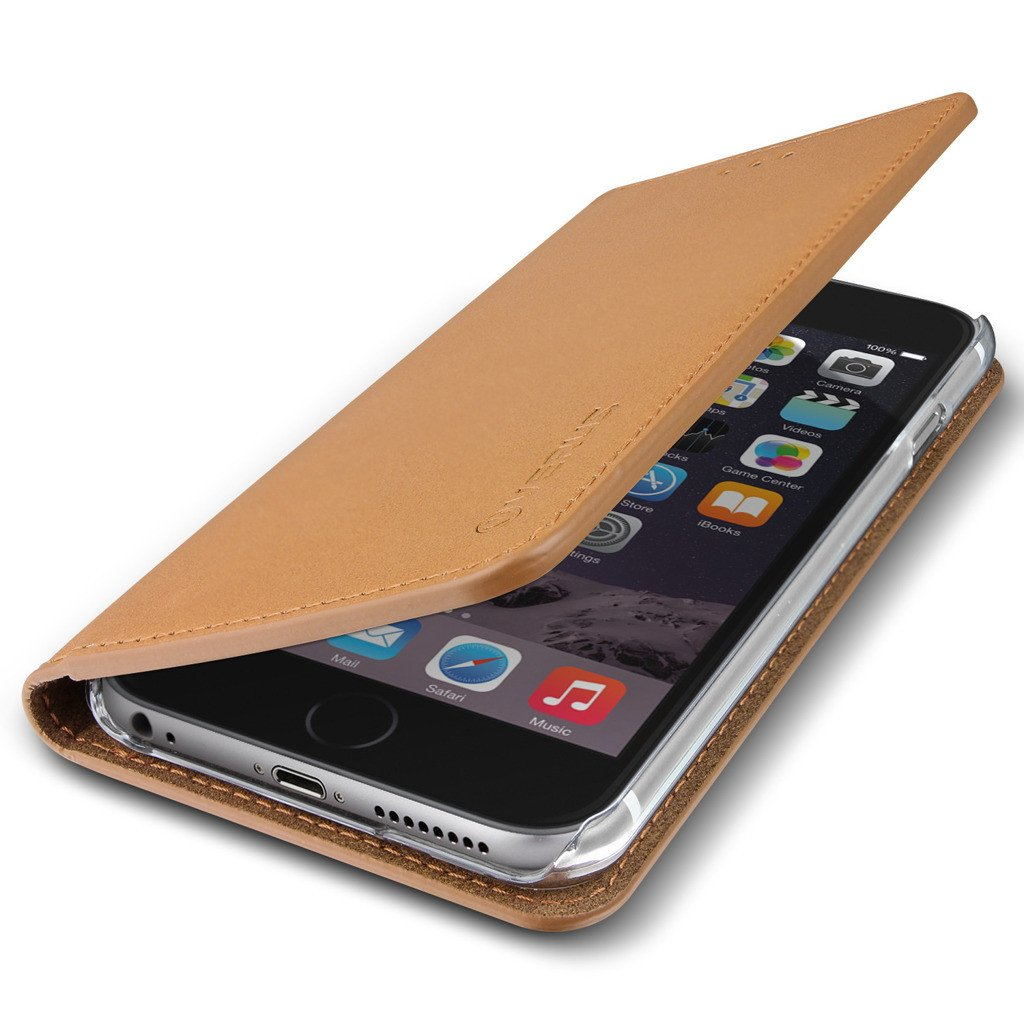 etui apple iphone 6 6s verus genuine leather case. Black Bedroom Furniture Sets. Home Design Ideas