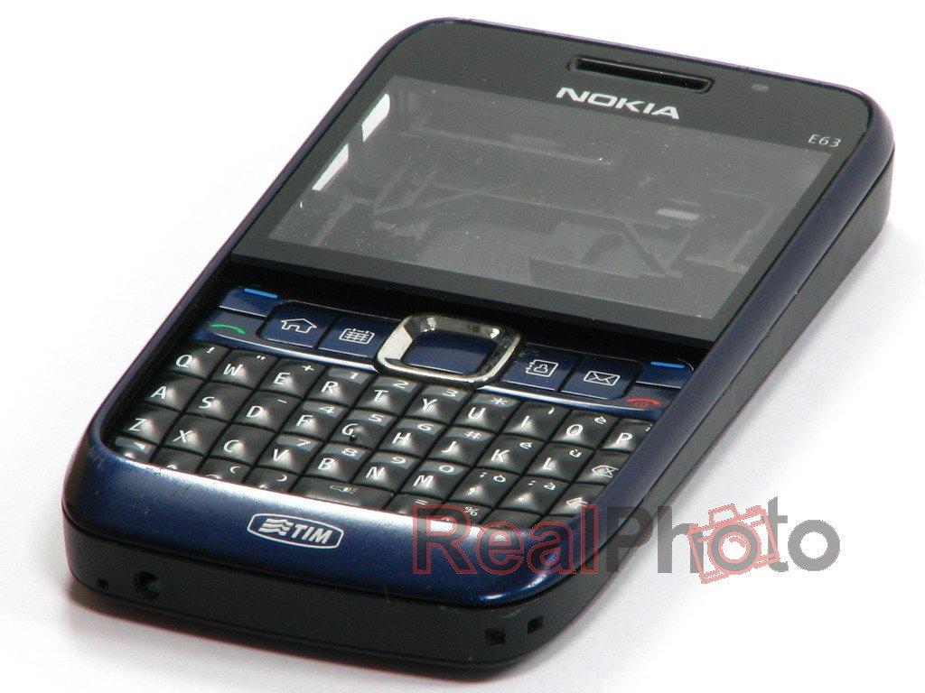 Nokia E63 Blue Oryginalna Obudowa Nok...