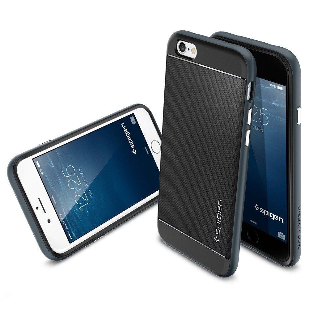 Pin Spigen Neo Hybrid Metal Do Iphone 6 Plus 5 5 Satin Silver Sgp Sgp ...